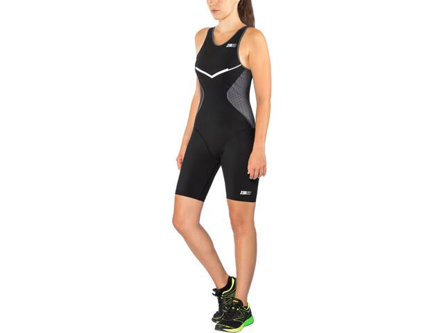 Z3R0D Racer Strój triathlonowy Kobiety, black series